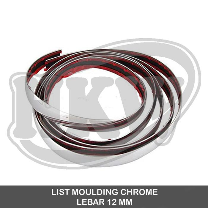 List Moulding Chrome Lebar 12 Mm Sirion All New Sirion