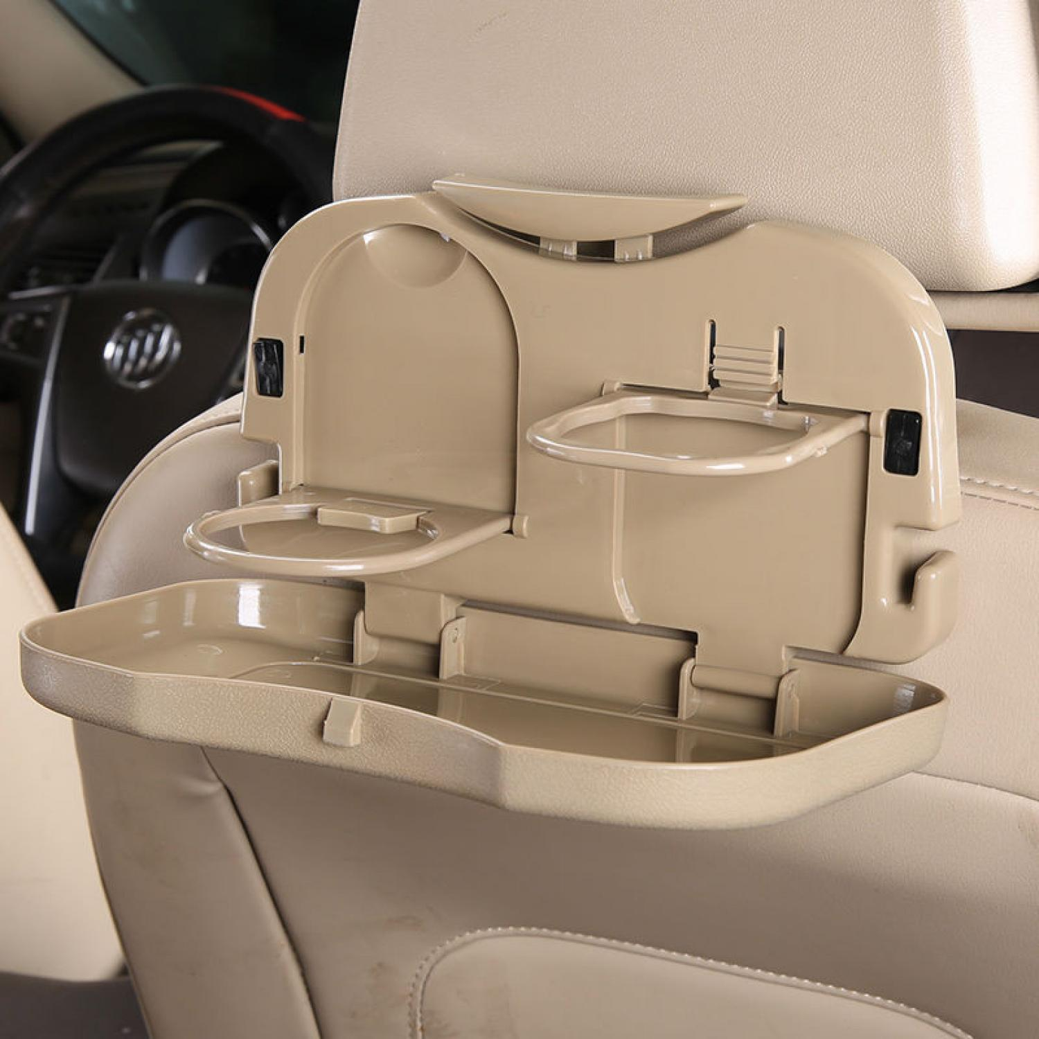 Car Multifunction Foldable Seat Back Meal Table / Meja Lipat Mobil .