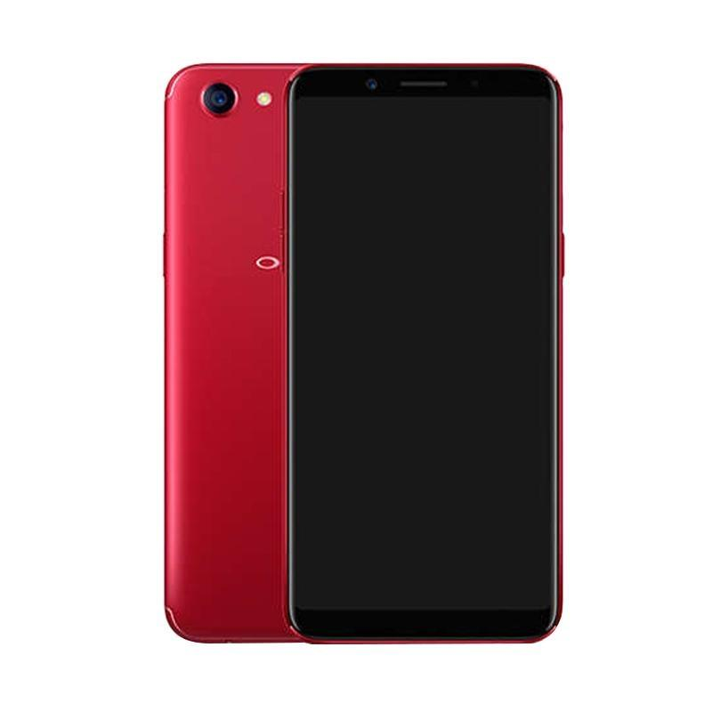 Oppo F5 Smartphone - Red [64GB/6GB