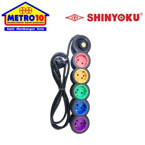 SHINYOKU Stop Kontak 506C