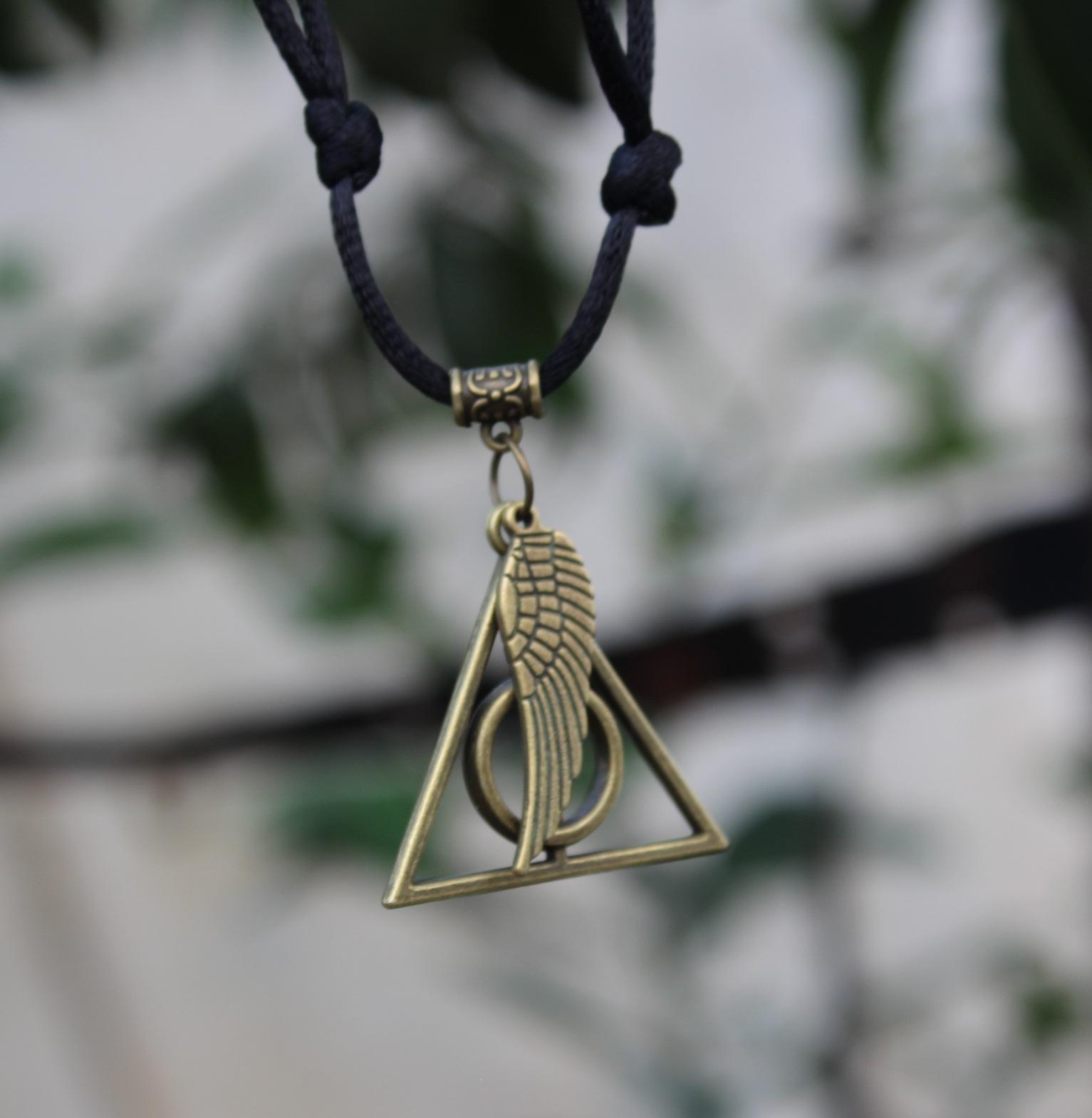 Kalung Tali Kur Cina Bandul Harry Potter dan Sayap KTC-412