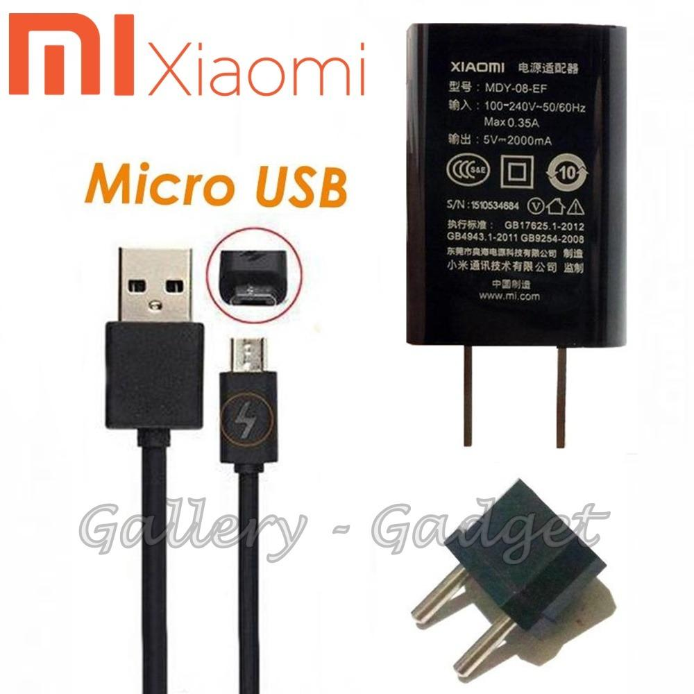 XIAOMI Charger MDY-08-EF Travel Charger With Micro USB 2A Original