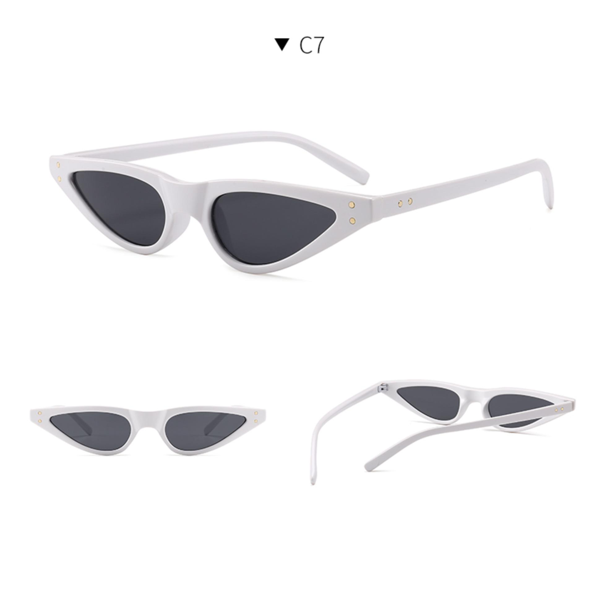 Vintage Cat Eye Design Sunglasses CAT9792 - Kacamata Fashion Wanita -  Kucing - Best Seller abadbc929f