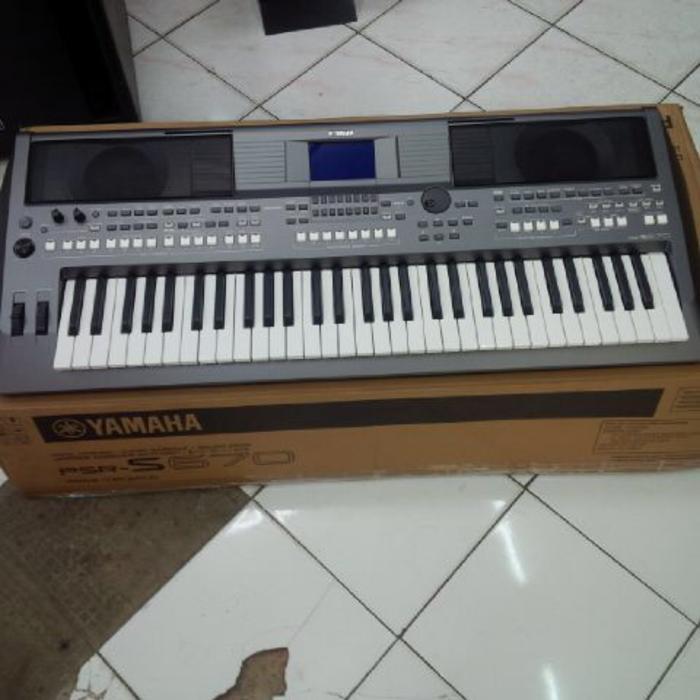 ORIGINAL  Yamaha PSR S-670 / PSRS 670 / PSR 670 / Keyboard Arranger Garansi Asli