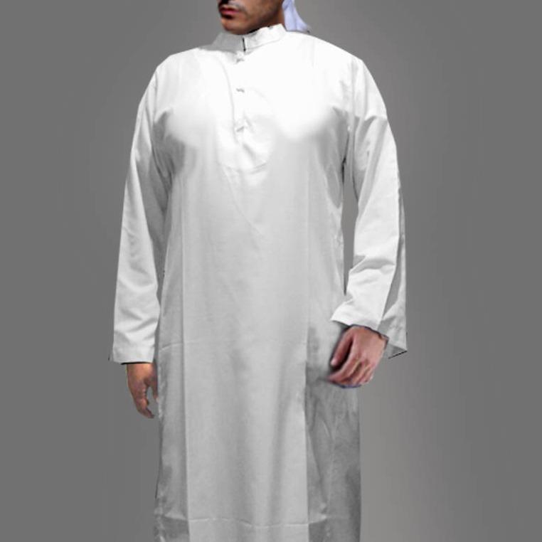Jubah Arab Pakaian Muslim Gamis Pria Panjang Big Size Asli