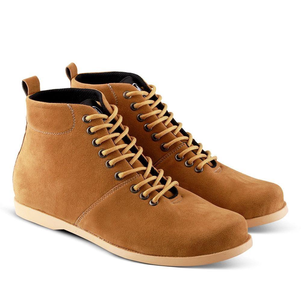 Sepatu Boots 529 Sepatu Kasual Pria untuk jalan, santai, kuliah, sekolah ,kerja - Tan