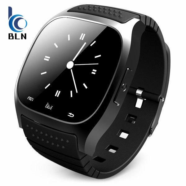 【Bln Tech】Smart Bluetooth Watch Smartwatch M26 With Led Display Barometer Alitmeter Music Player Pedometer For Android Ios Mobile Phone(Blue) Oem Murah Di Hong Kong Sar Tiongkok