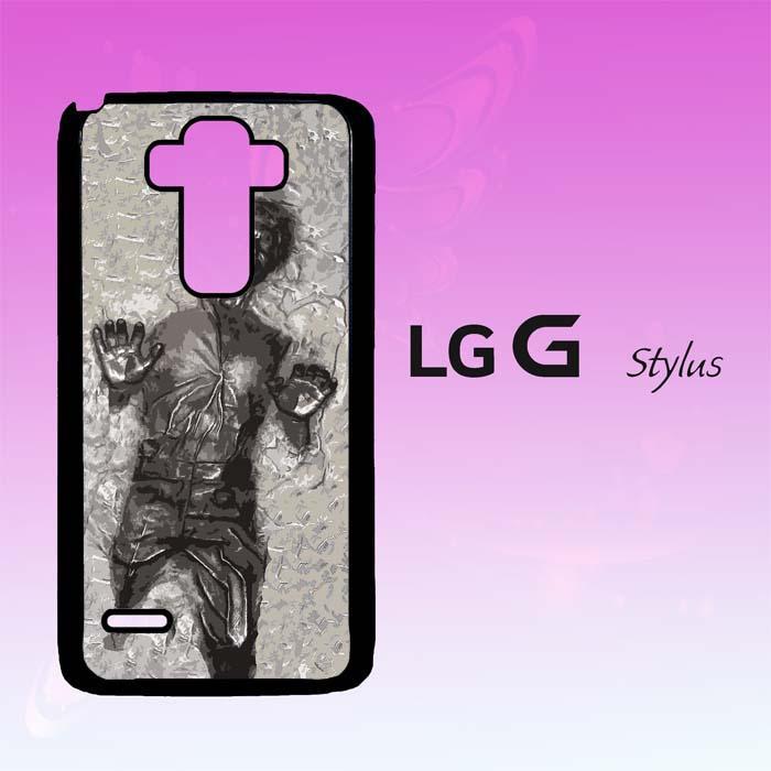 Casing Untuk LG G4 STYLUS Han solo in carbonite V0417
