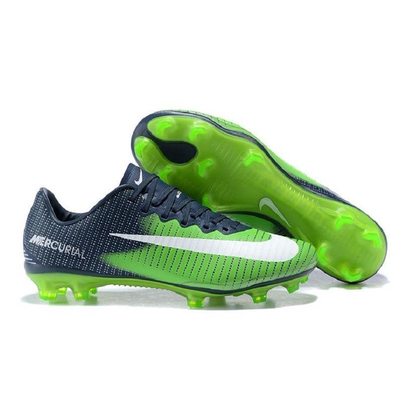 Sepatu Bola - Nike Mercurial Vapor XI CR7 Green Navy