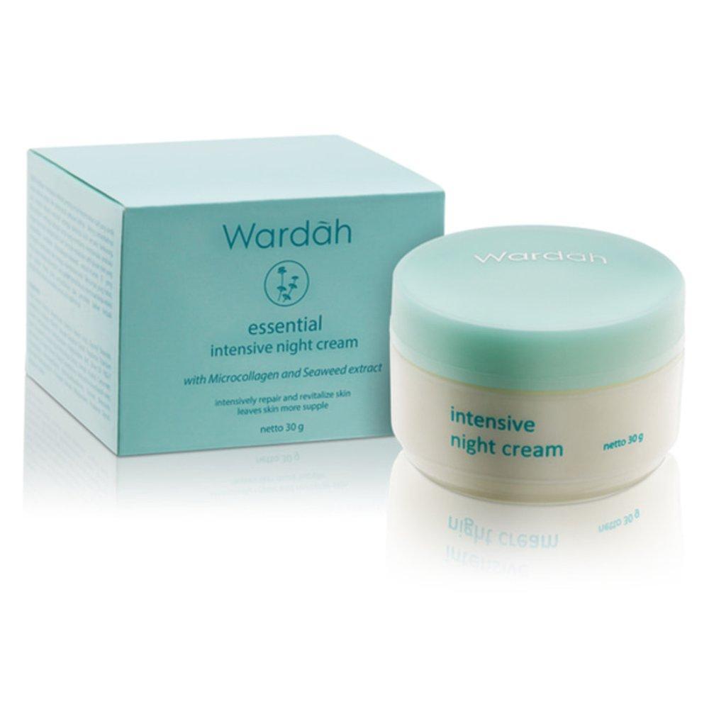 Kelebihan Wardah Lightening Night Cream 30 Gr Terkini Daftar Harga Day Step 1 30gr Seaweed Intensive