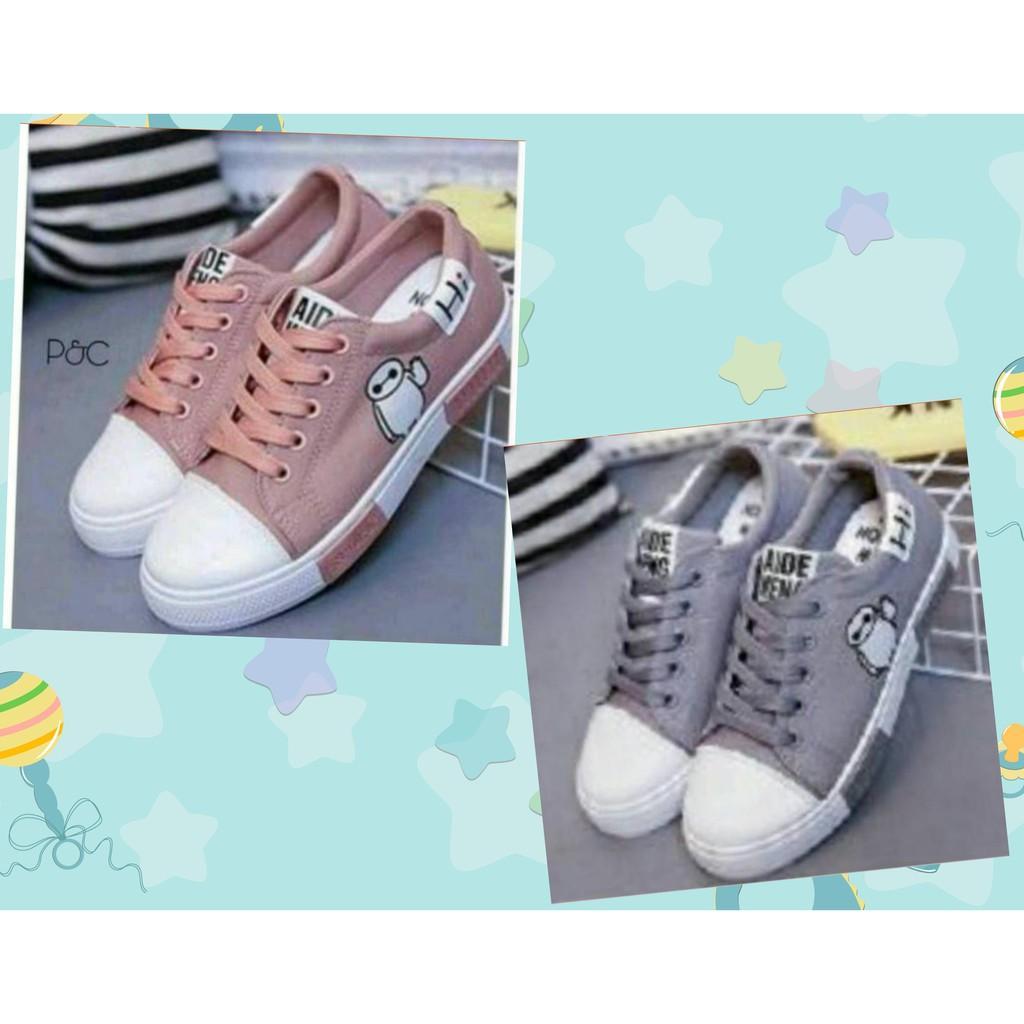 Sneaker Hi Combi 87 Karakter Gambar Bordir