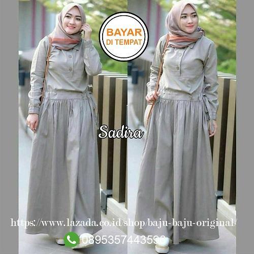 Baju Original Gamis Sadira Dress Balotelly Baju Wanita Gamis Baju Terusan Panjang  Baju Kerja Gaun Pesta 7f5f390e21