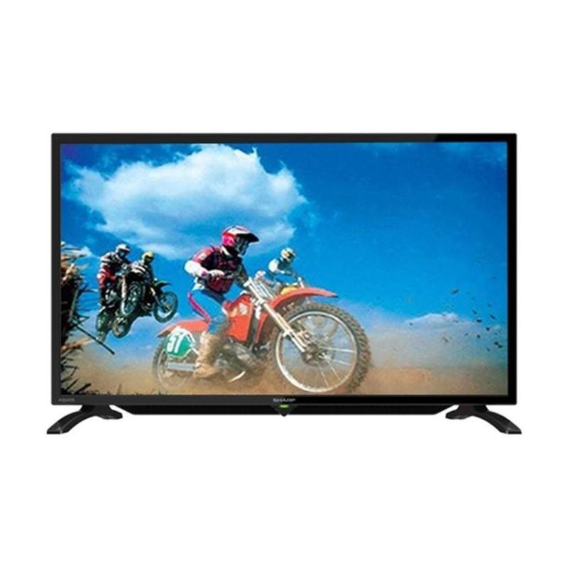 Sharp 32 inch LED HD USB TV - Hitam (Model LC-32LE180i)GARANSI RESMI