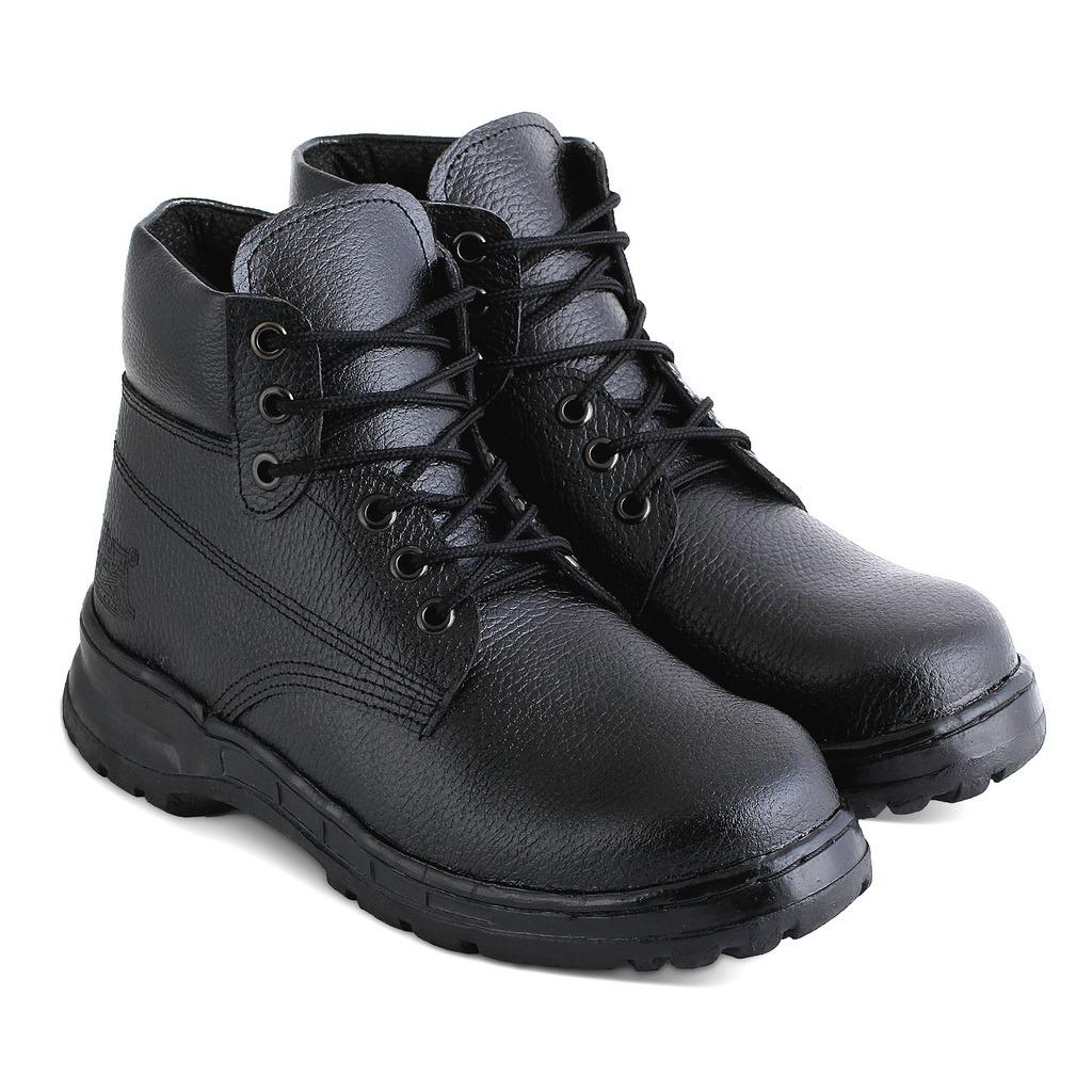 JK Collection Sepatu Safety & PDL Pria - Hitam