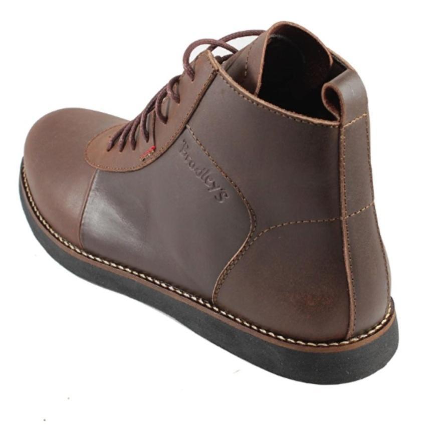 ... Sepatu Kulit Boots Pria BRADLEYS ANUBIS Keren Sekelas BRODO - 3 ...