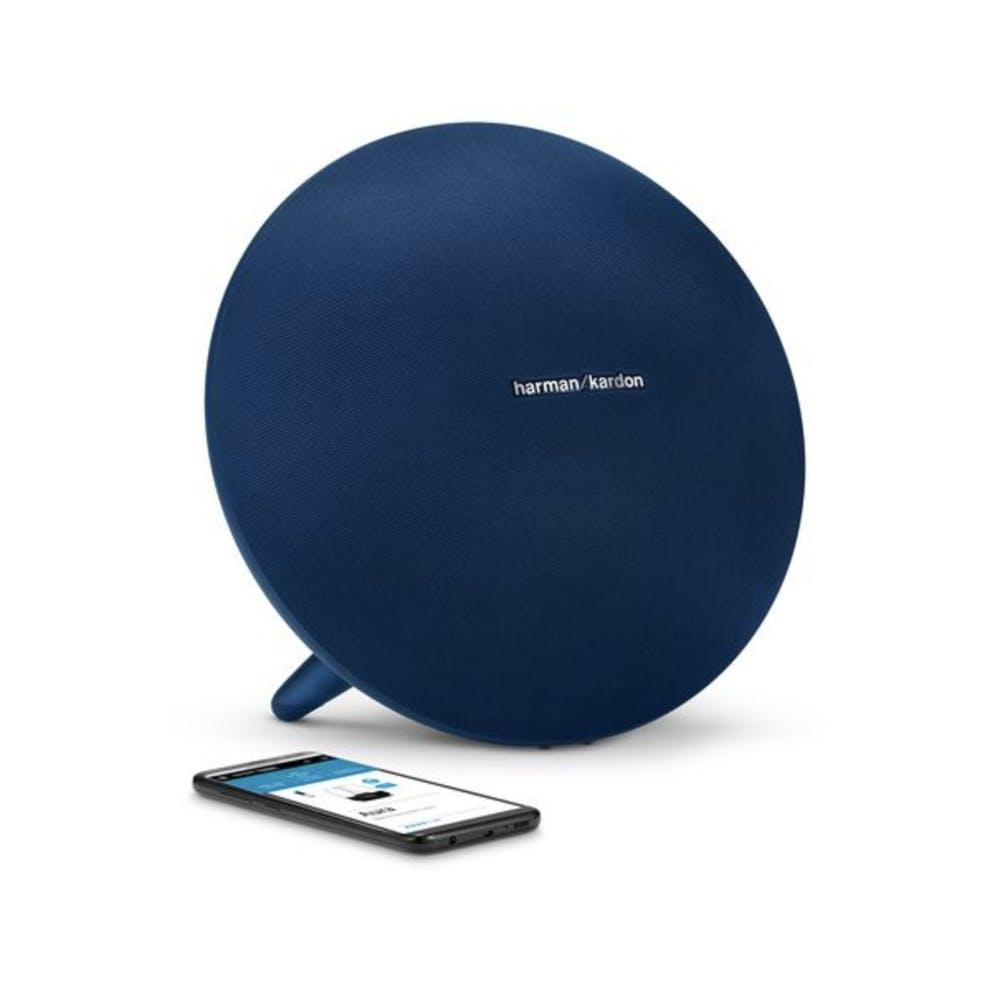 Cek Harga Baru Harman Kardon Onyx Studio 3 Bluetooth Portable Speaker Leather Black Hitam 4 Blue