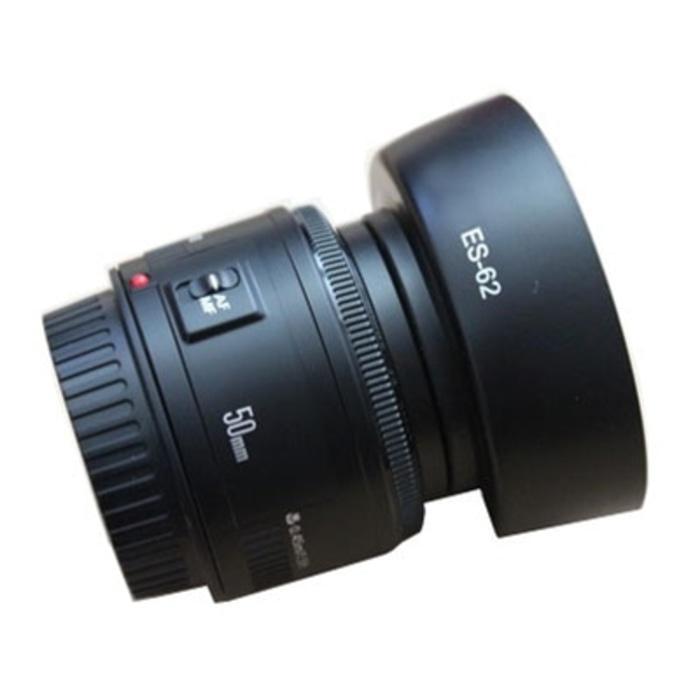 Detail Gambar Lens Hood Canon ES-62 Ukuran 52mm Untuk Lensa Fix 50mm F1.8 Terbaru