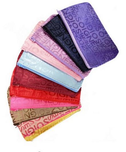 ... Tas Kosmetik Korea Motif Abjad Korean Cosmetic Bag Ukuran Kecil Dompet Kosmetik EDW