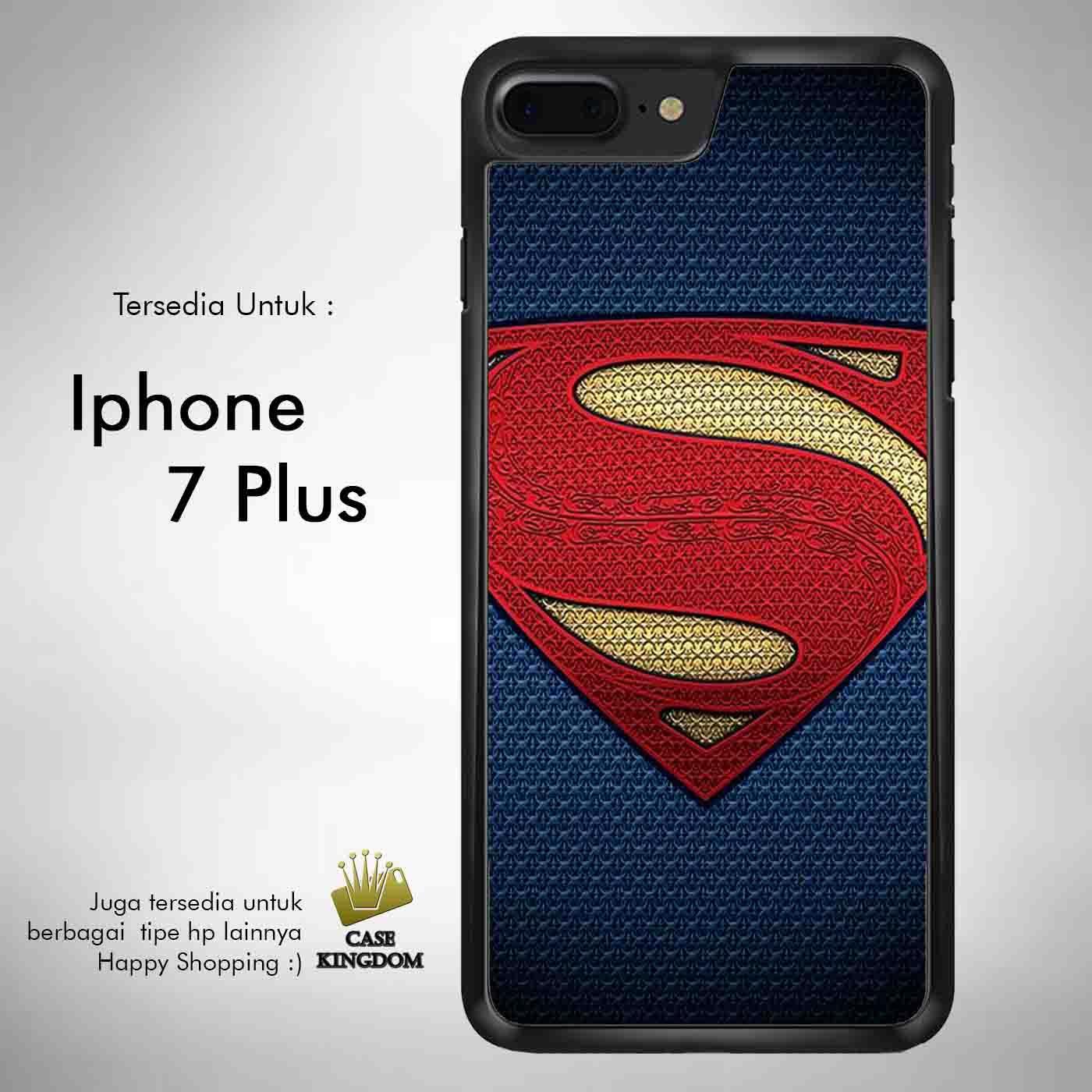 Superman Man of Steel 1 Casing Custom Hardcase Iphone 7 Plus Case Cover
