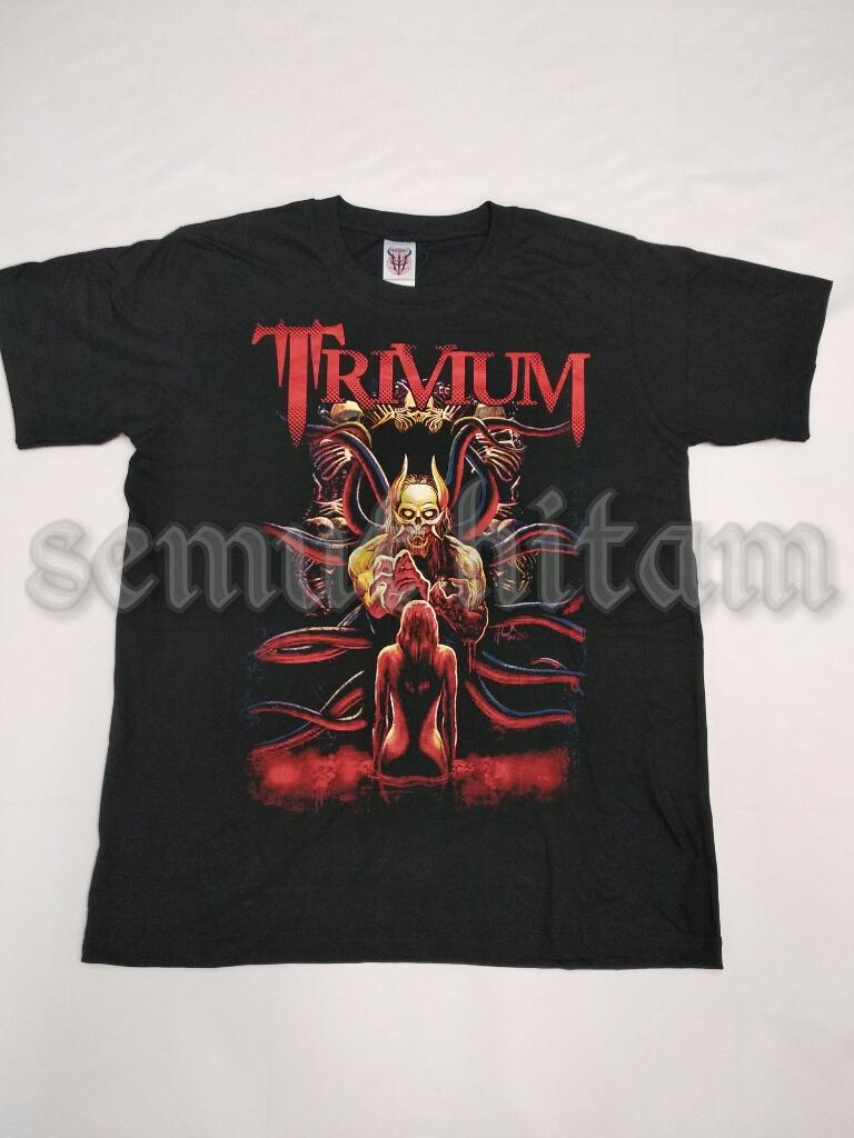 Kaos Pendek / Kaos Oblong Metal / Punk / Rock Prapatan Rebel / Heaven Hell TRIVIUM