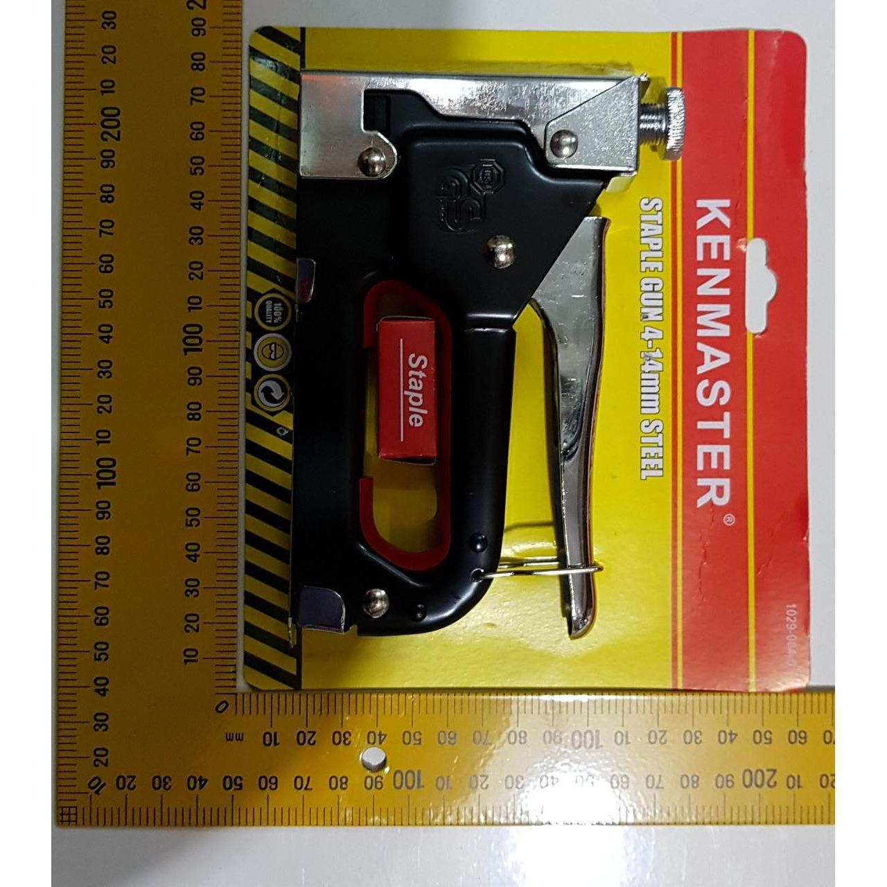 Beli Besar Kenmaster Staples Tembak Gun Staple Kenmaster 4 14 Mm Jok Pake Kartu Kredit