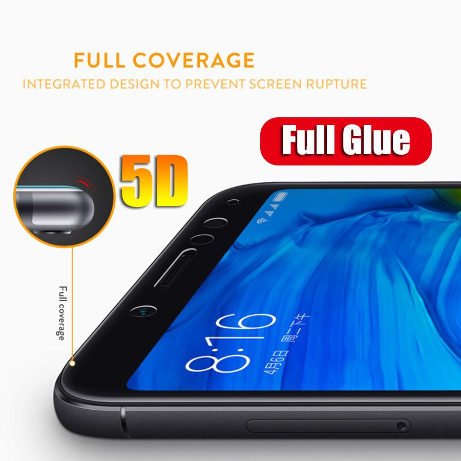 Full Cover Tempered Glass 5D Screen Protector Nokia 5.1 Plus - 2