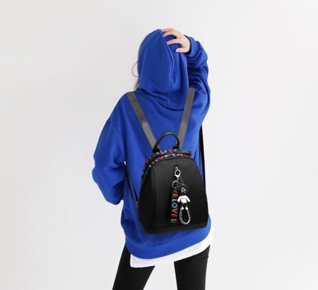 ... Tas Ransel Backpack ABG Remaja Wanita Import Korea New Model CS-LV 01 - 5