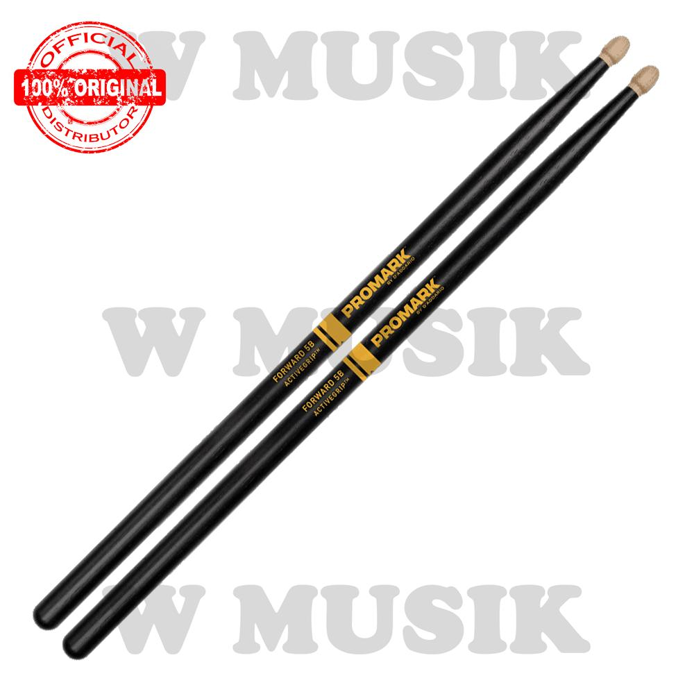 Spesifikasi Promark Stick Drum Forward Active Grip 5B F5Bag Promark