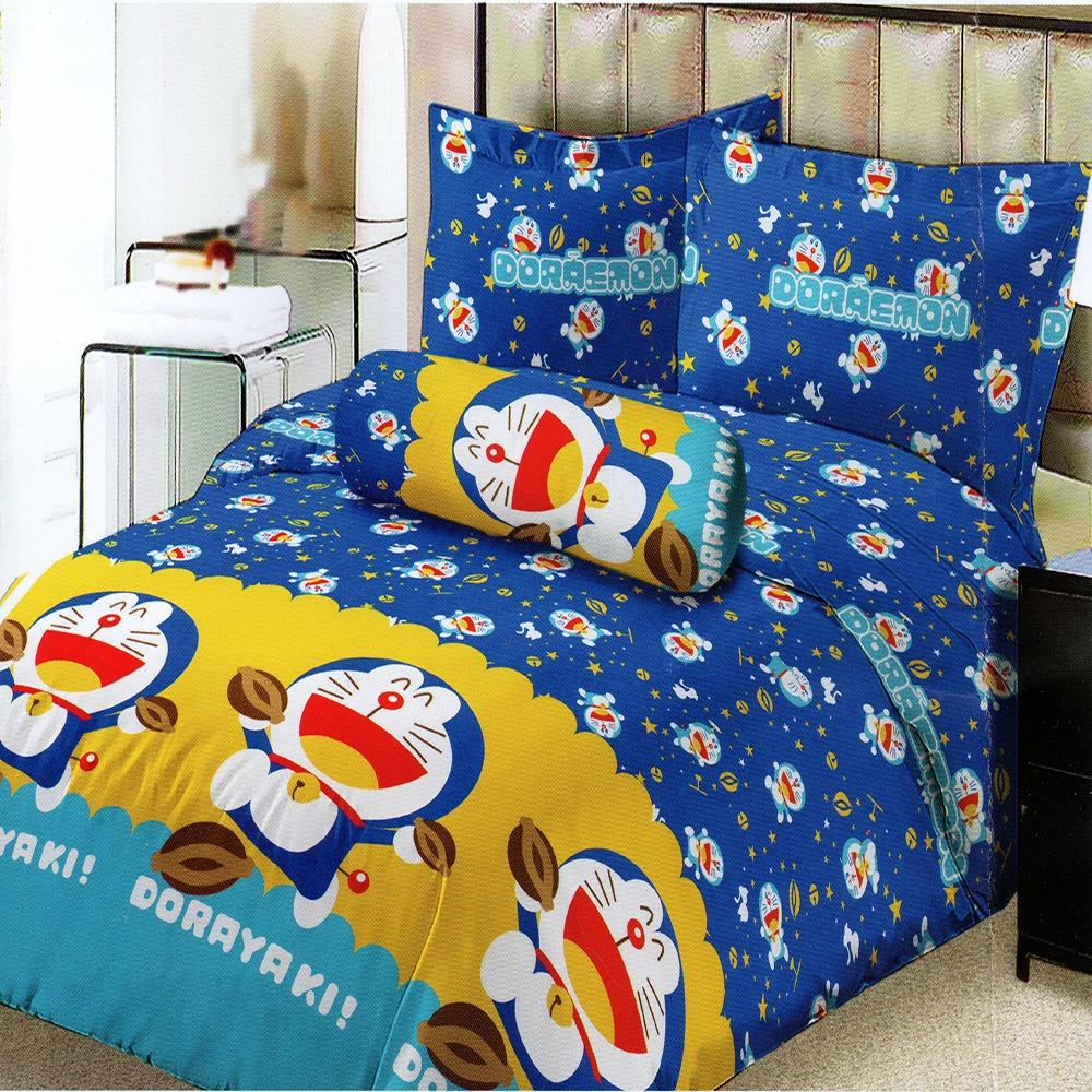 Harga Lady Rose Sprei Small Single 100X200 Cm Motif Doraemon Dorayaki Lady Rose