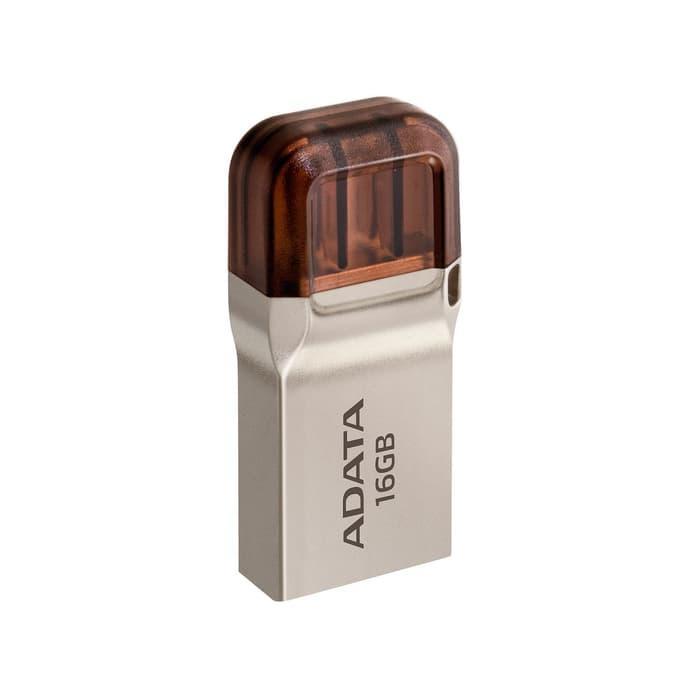 ADATA UC360 - Flashdisk USB OTG Micro USB Flashdrive OTG Mikro USB - 16GB Silver Lifetime - 4