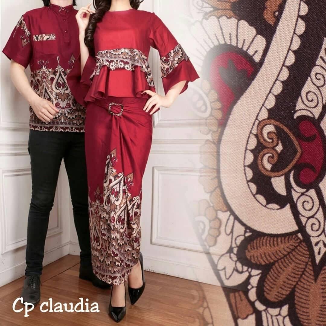 JS - Kemeja Couple Claudia Blouse / Baju Pasangan Trendy/ Kemeja Pasangan / Atasan Kapel