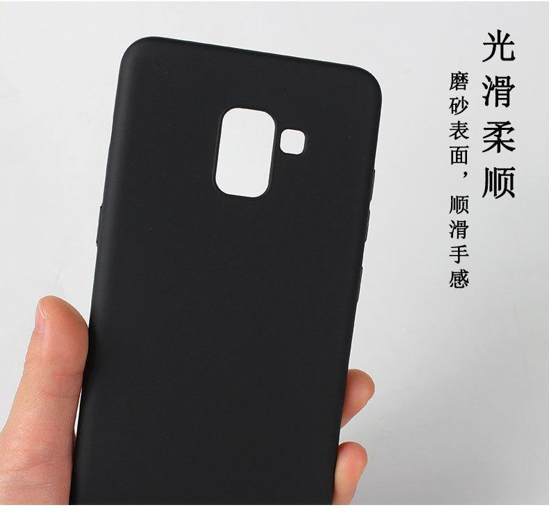 Caselova UltraSlim Black Matte Hybrid Case for Samsung Galaxy A6 2018 - Black - 2 ...