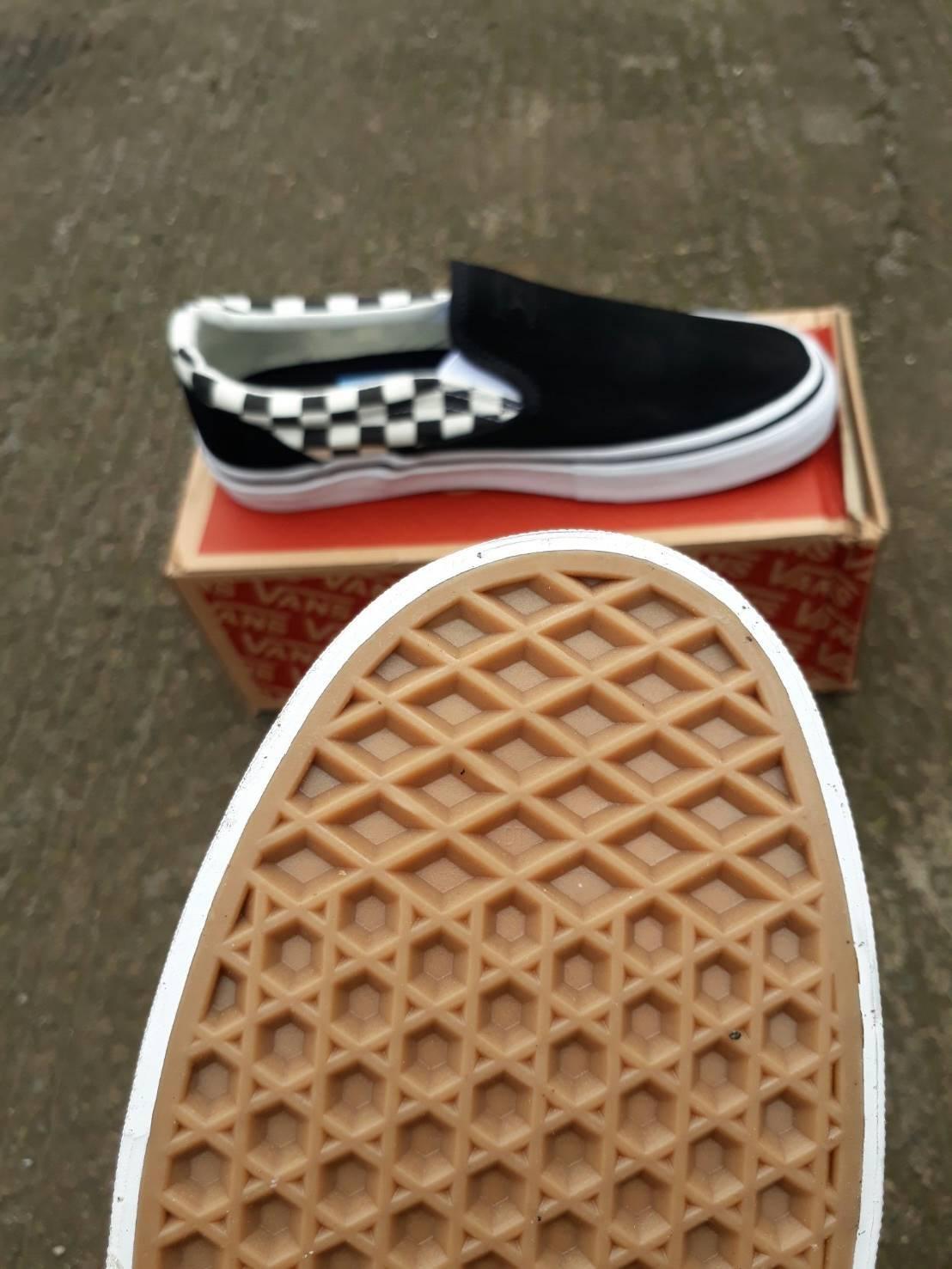 Detail Gambar sepatu vans slipon checkerboard pro thrasher waffle dt  premium quality   sepatu impor murah   sepatu sekolah   sepatu slop pria    sepatu ... 0a9942d283