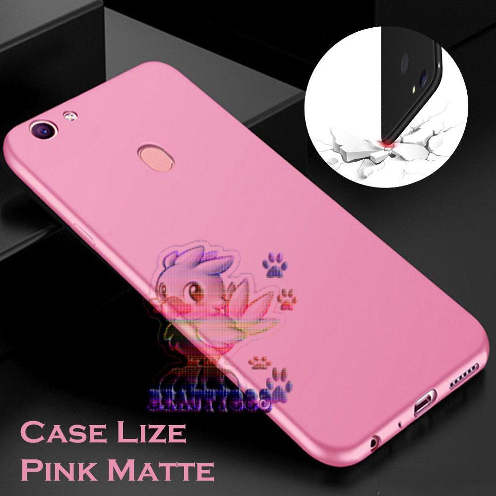 Lize Case Oppo F7 Rubber Silicone Anti Glare Skin Back Case / Silikon Oppo F7 /