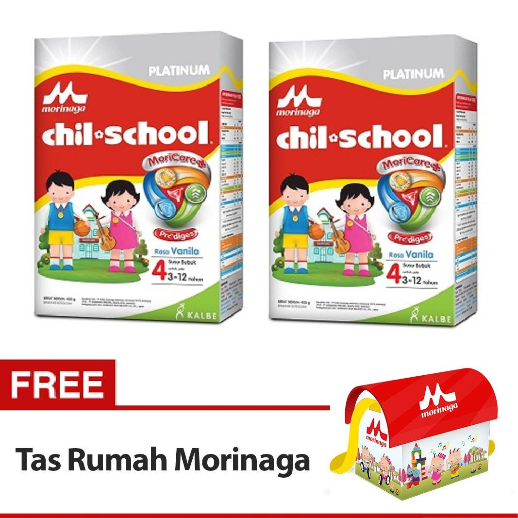Buy 2 Chil Sch**l Vanilla 800Gr Free Tas Rumah Morinaga Diskon Akhir Tahun