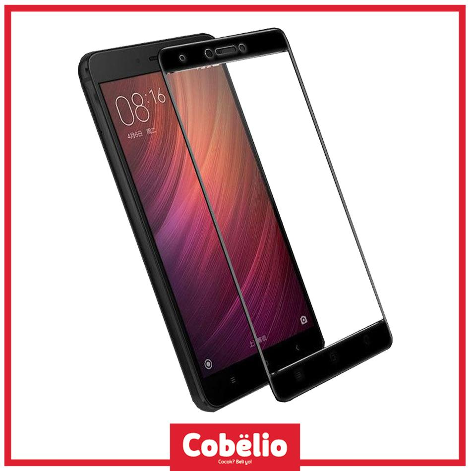 Fitur Tempered Glass Warna 3d Full Cover Screen Protector Xiaomi New Itemtempered Fullwarna Redmi Note 4x Gold Hitam Free Case