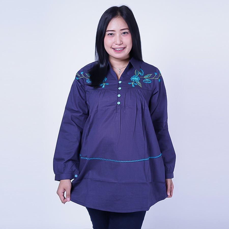 Ning Ayu Baju Hamil Kerja Muslim Kelly - BLJ 426 / Baju Hamil untuk kerja Lengan Panjang / Baju Hamil Seksi / Baju Hamil Gamis / Baju Menyusui Modis / Baju menyusui Murah / Baju Menyusui Terbaru / Baju Menyusui Keren