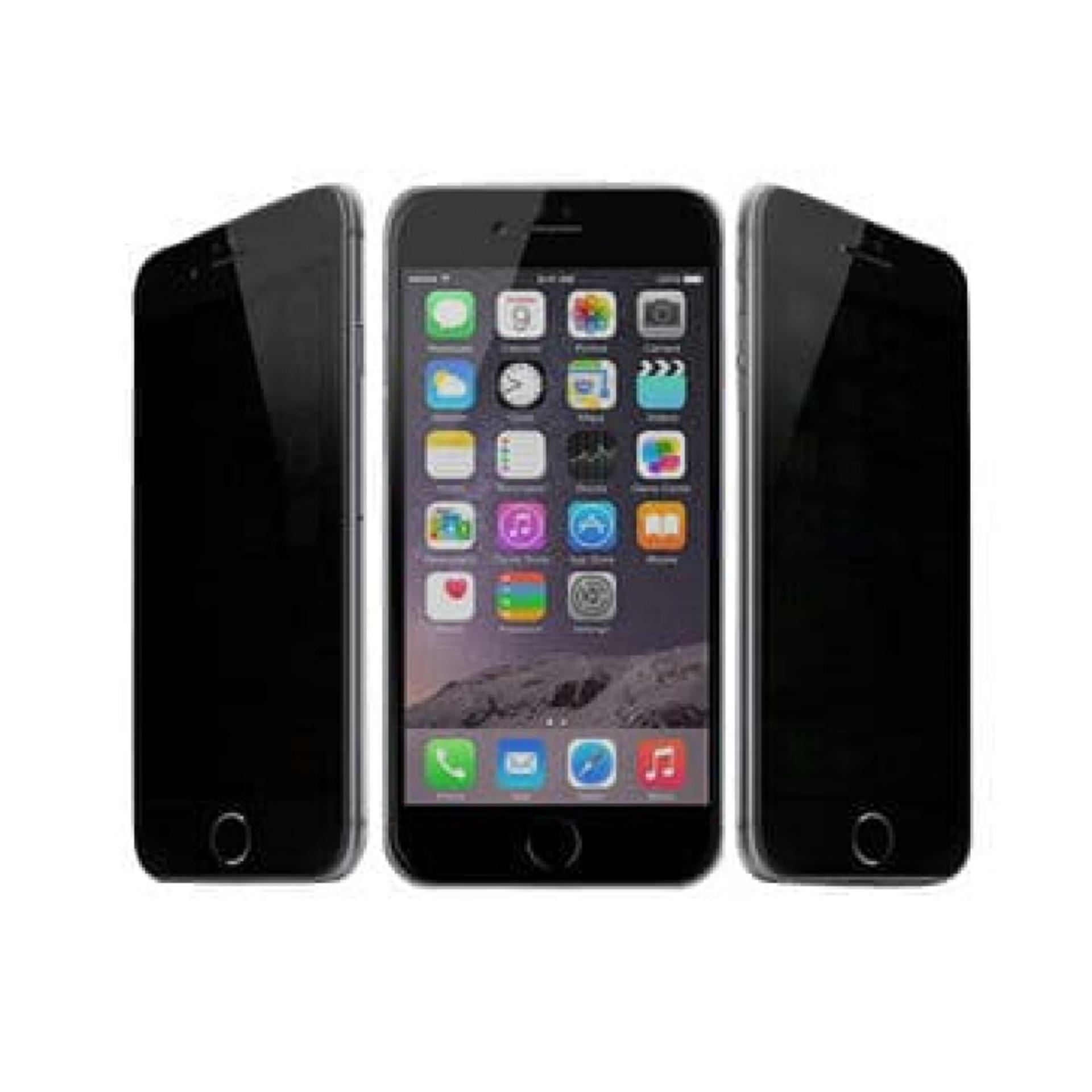 Tempered Glass Anti Spy Iphone 6 Plus / 6S Plus - Black