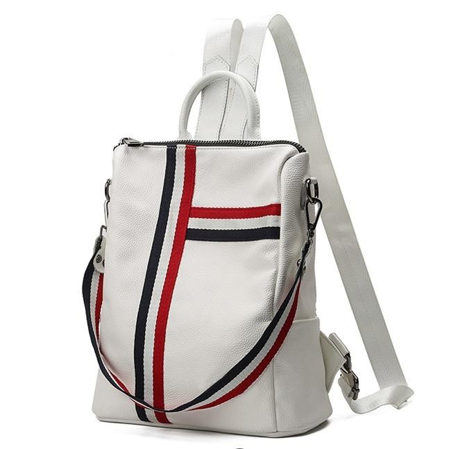Spesifikasi Pure White Backpack France Tas Ransel Fashion Wanita Atdiva Online