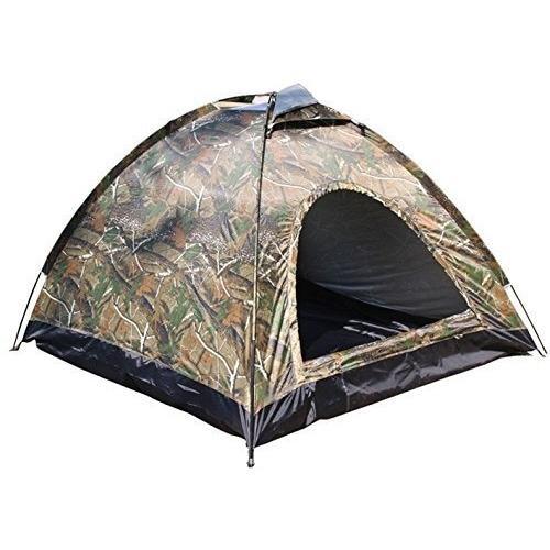 Promo - Tenda Camping kemping dome camo loreng 2-3 orang dengan alas terpal