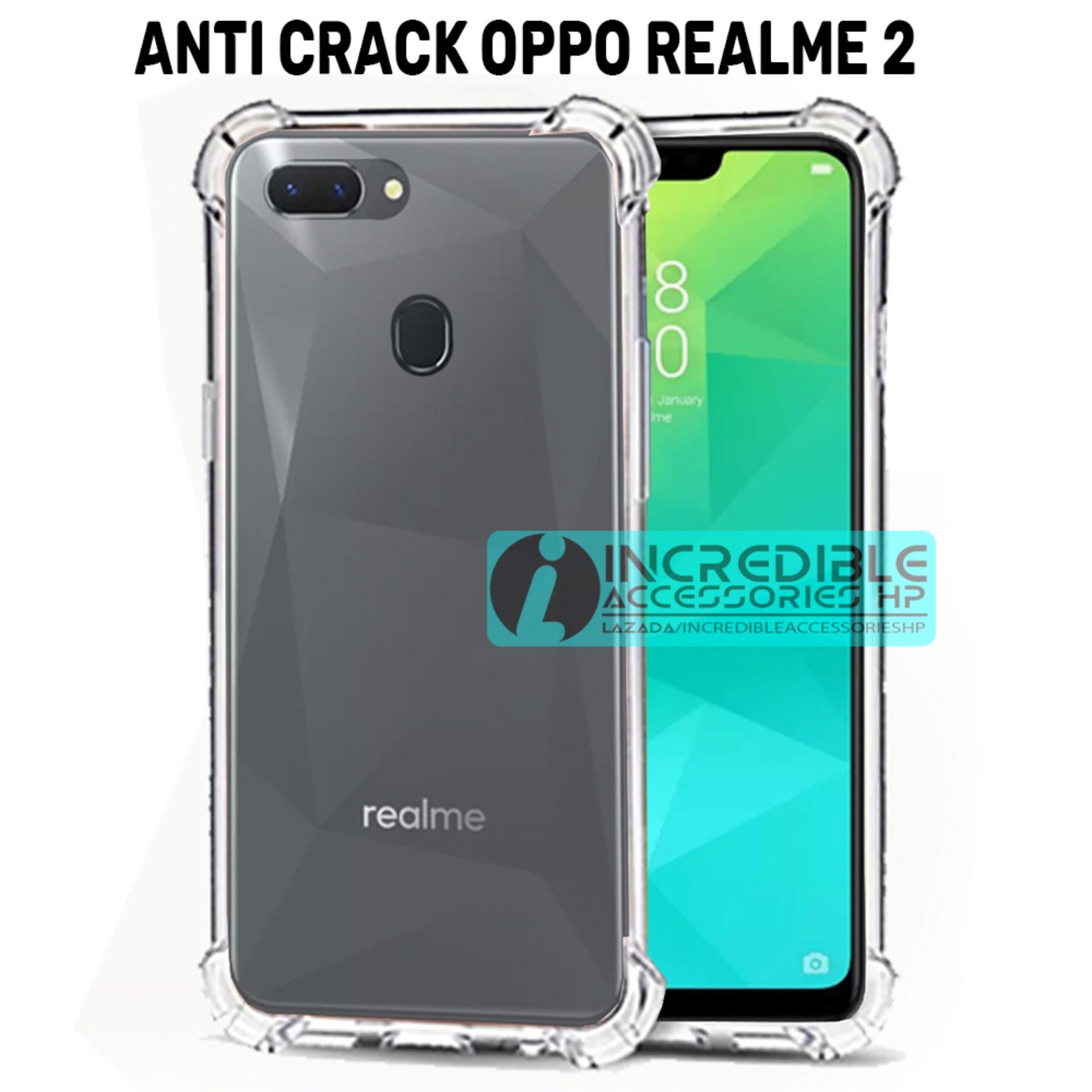 Anti Crack for Oppo Realme 2 Softcase Elegant Anti Shock Jelly Case - Bening