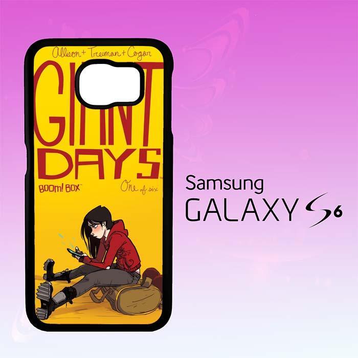 Casing Untuk Samsung Galaxy S6 GIANT DAYS W4399