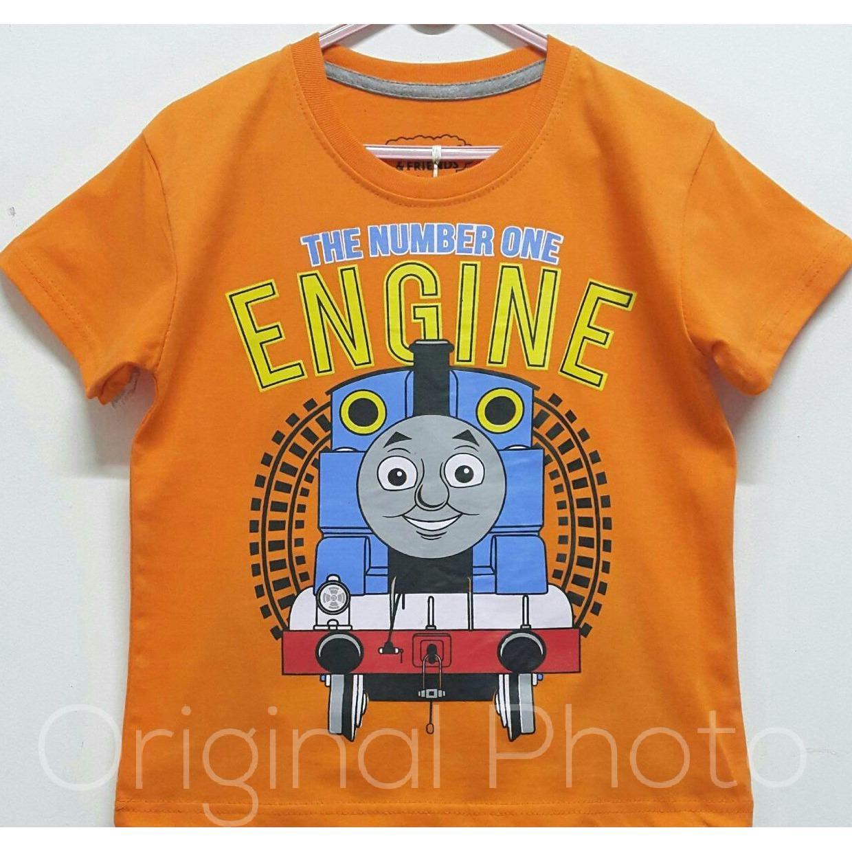 Kaos Anak Karakter - Thomas Engine
