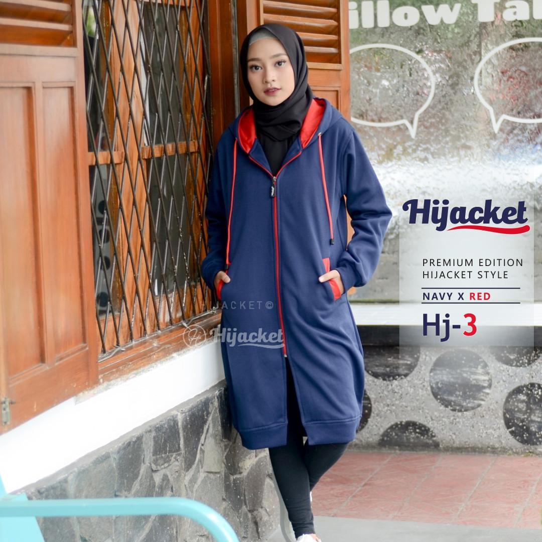 Style Jaket Hoodie Hijab  84094a2a64