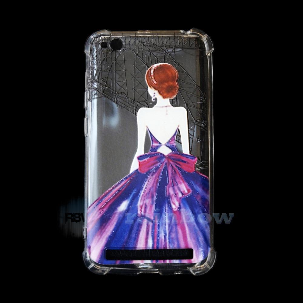 Fitur Rainbow Case Anti Crack Xiaomi Redmi 5a Free Tentakel Phone Silikon Anticrack Slim Custom Ladies Purple Animasi
