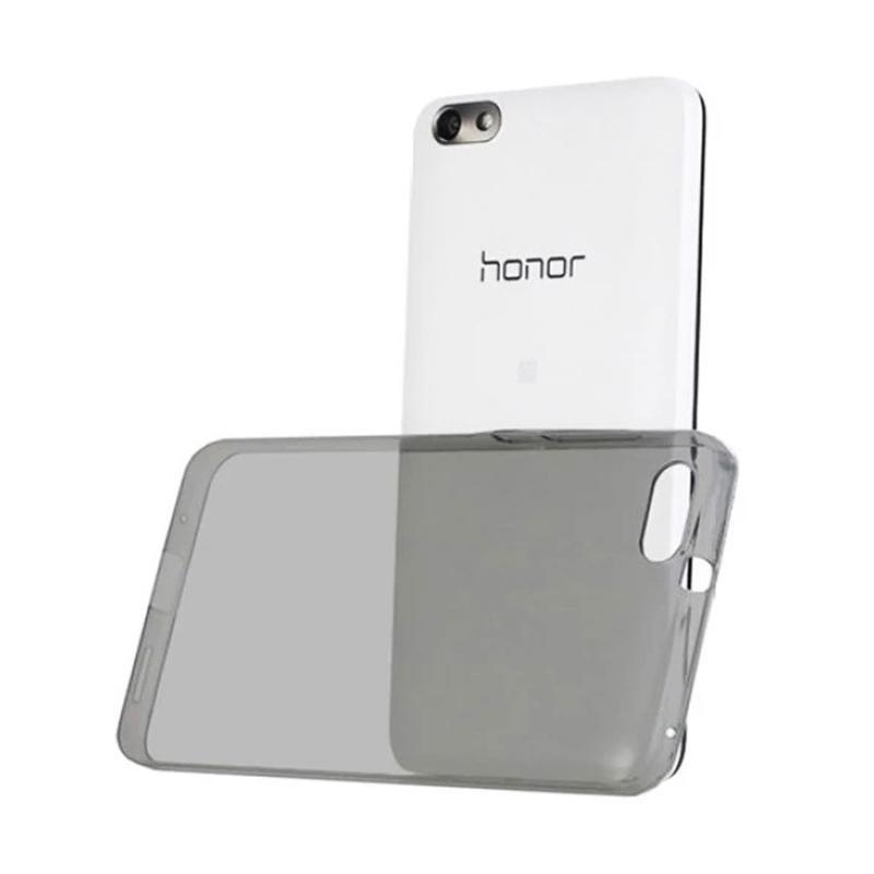 Ume Huawei Honor 4X Ultrathin Huawei Honor 4X / Silikon Huawei Honor 4X / Silicone / Ultra Thin 0.3mm Casing Huawei Honor 4X - Hitam