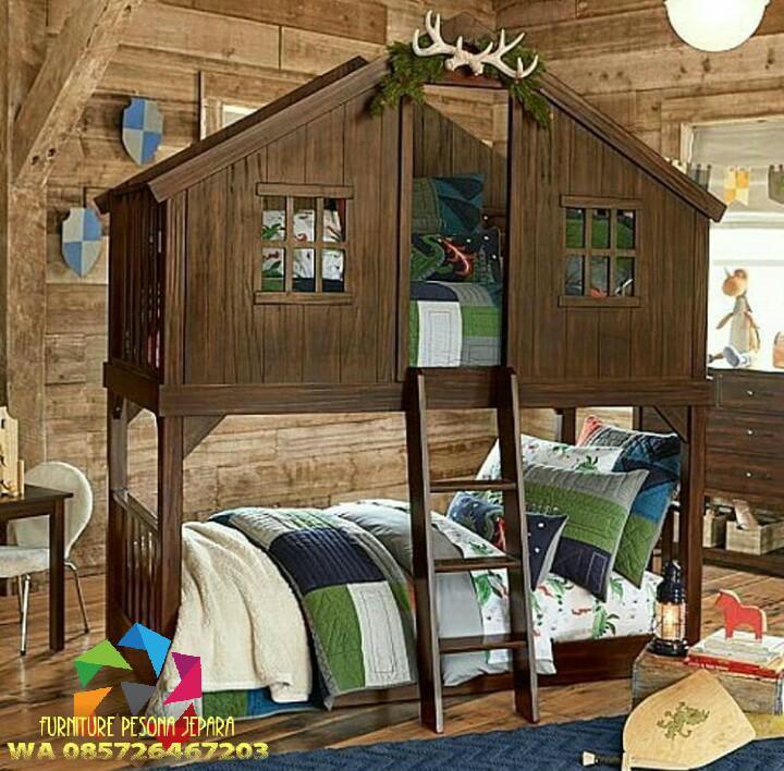 Ranjang susun anak, Tempat tidur anak tingkat. PESONA JEPARA