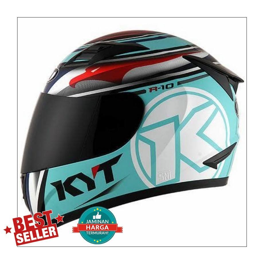 Kelebihan Original Helm Kyt Galaxy Seri 4 Terkini Daftar Harga Dan Gamis Raindoz Bbr251 R10 Race Aqua