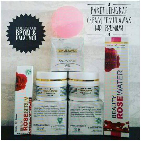 Temulawak Premium WD PAKET LENGKAP ORIGINAL100%