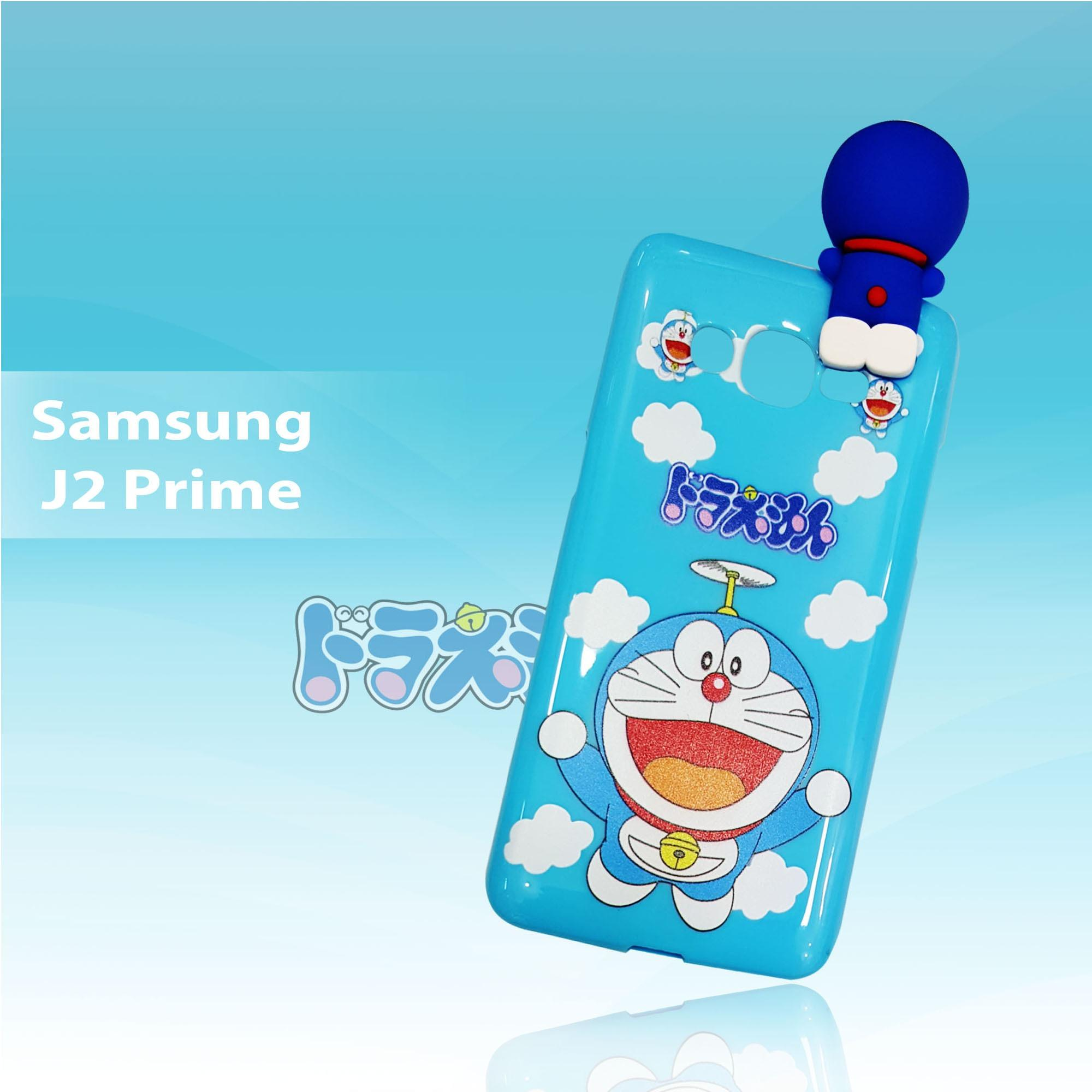 Case Doraemon Fly Cute Climb New For Samsung Galaxy J2 Prime